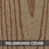 Bois Composite Premium Timbertech - Reliaboard Cedar