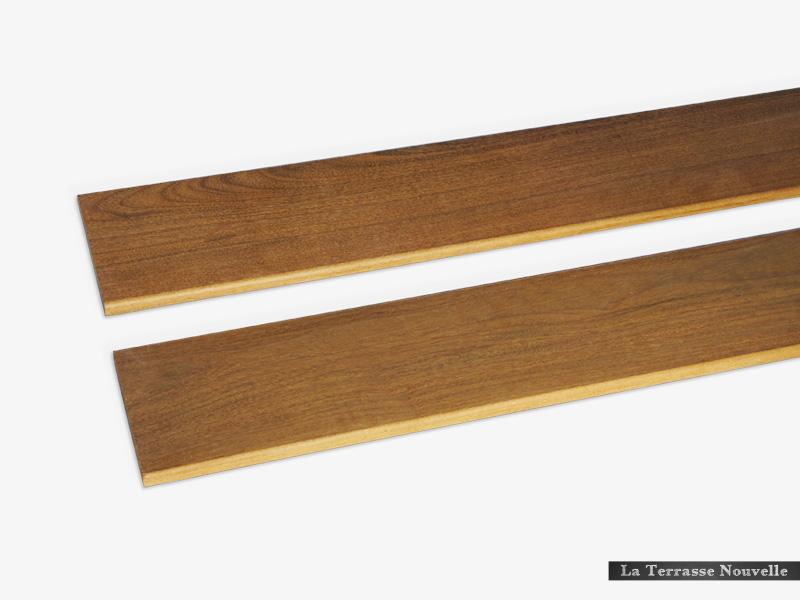 Ipé du brésil profil bombé bois exotique 1er choix - La Terrasse Nouvelle