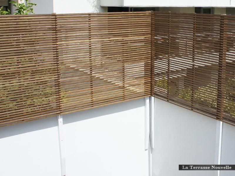 panneau claire voie bois 15 panneaux parevue claire voie en bois exotique ip. Black Bedroom Furniture Sets. Home Design Ideas