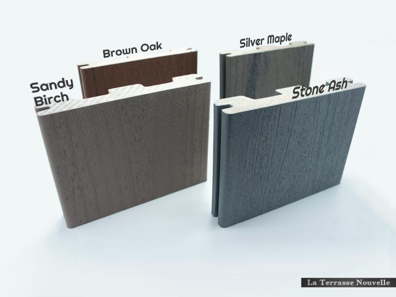 bois composite premium TIMBERTECH EARTHWOOD TERRAIN