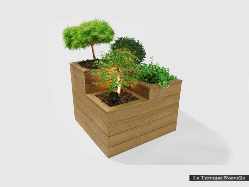 bac fleurs la terrasse nouvelle. Black Bedroom Furniture Sets. Home Design Ideas