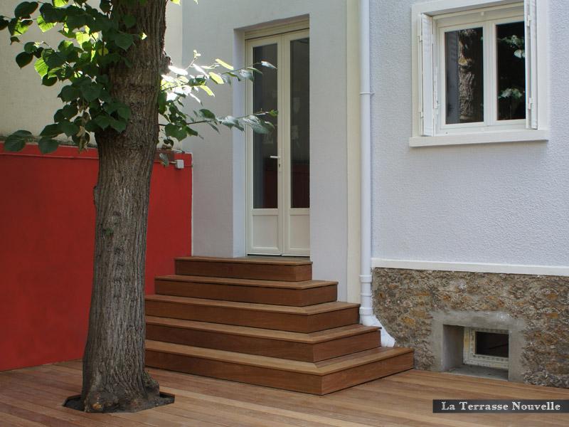 plots faible épaisseur 8 mm terrasse bois